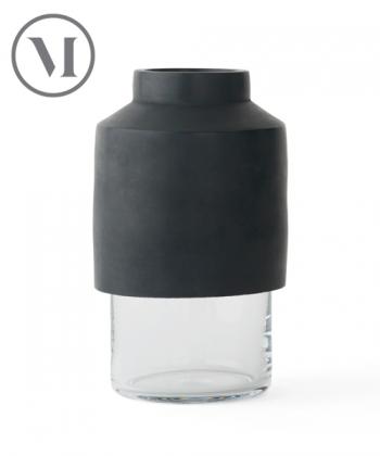 Willmann Vase grafitowy skandynawski wazon z betonu | Menu