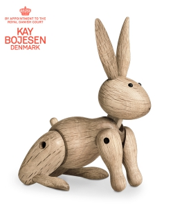 Rabbit skandynawska figurka drewniana | Kay Bojesen