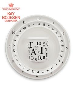 Kay Bojesen zestaw naczyń dla dzieci litery duńskie
