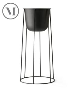 Wire Pot M czarny skandynawska donica nowoczesna | Menu | design Norm Architects