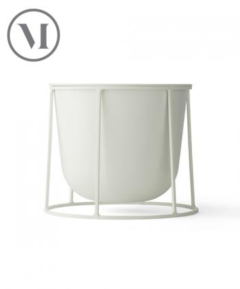 Wire Pot S biały skandynawska donica nowoczesna | Menu | design Norm Architects