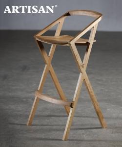 7 Hoker drewniany hoker designerski | Artisan | Design Spichlerz