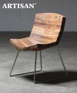 Chunk designerskie krzesło drewniane | design Karim Rashid | Artisan | Design Spichlerz