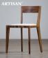 Hanny Soft designerskie krzesło drewniane z tapicerowanym siedziskiem   Artisan   Design Spichlerz