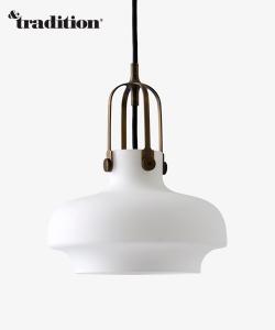 Copenhagen Pendant SC6 Opal designerska lampa skandynawska z mlecznego szkła | &tradition | Design Spichlerz