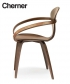 Cherner Armchair designerskie krzesło drewniane   Cherner Chair Company   Design Spichlerz