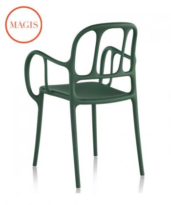 Mila krzesło ogrodowe   design Jaime Hayon   Magis