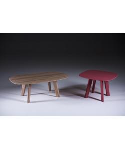 Luc stolik kawowy z litego drewna Artisan | Design Spichlerz